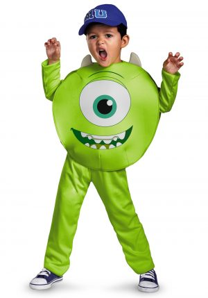 Fantasia  infantil Mike Monstros S.A – Toddler Classic Mike Costume