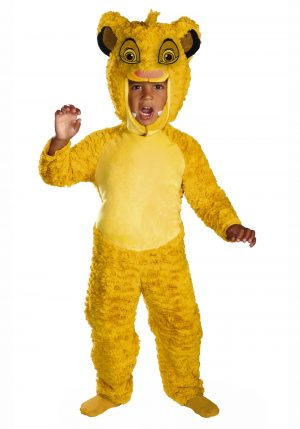 Fantasia infantil SIMBA o rei leão – Lion King Toddler Simba Deluxe Costume