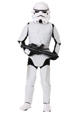 Fantasia infantil  Stormtrooper STAR WARS – Child Deluxe Stormtrooper Costume