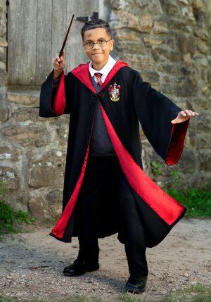 Fantasia infantil de Harry Potter- Deluxe Kid's Harry Potter Costume