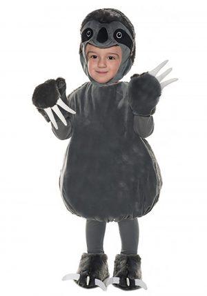 Fantasia infantil de bicho preguiça-Kid's Bubble Sloth Costume
