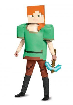 Fantasia infantil do Minecraft Alex – Minecraft Alex Deluxe Child Costume