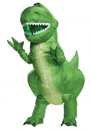 Fantasia inflável Toy Story Rex – Toy Story Kids Rex Inflatable Costume