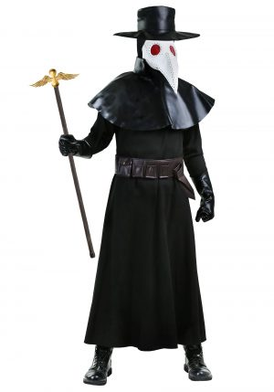 Fantasia  masculino de doutor da praga – Men's Plague Doctor Costume