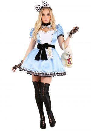 Fantasia sedutora de Alice para mulheres – Alluring Alice Costume for Women