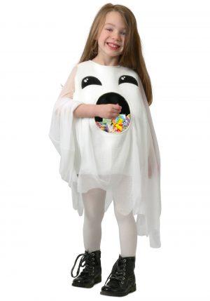 Alimente-me fantasia de fantasma para crianças – Feed Me Ghost Costume for Kids