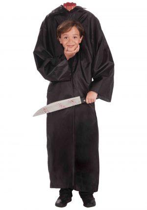 Fantasia de menino sem cabeça para crianças – Kids Headless Boy Costume