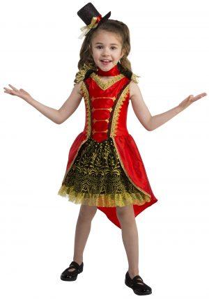 fantasia diretora de circo para meninas – Toddler Circus Girl Ringmaster Costume