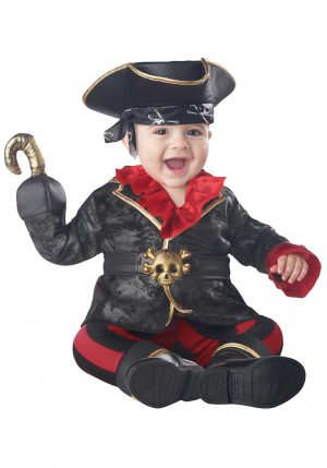 Fantasia bebe de Pirata – Pirate of The Crib-Ian Infant Costume