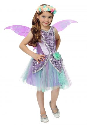 Fantasia de fadas violeta – Fun Fairy Girls Costume