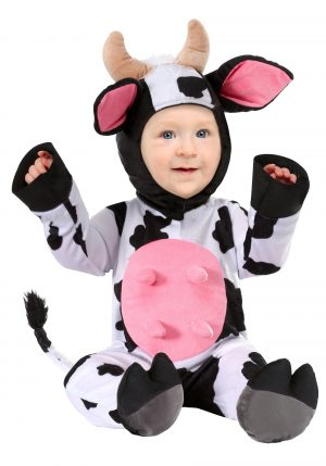 Fantasia de vaquinha feliz para bebe -Infant Happy Cow Costume