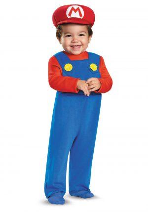 Fantasia  infantil Mario Bross -Mario Infant Costume
