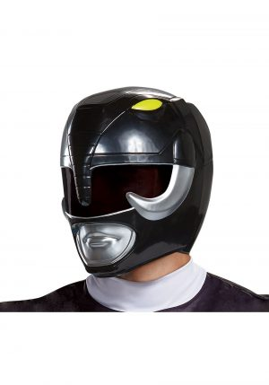 Capacete Ranger Preto Adulto – Adult Black Ranger Helmet