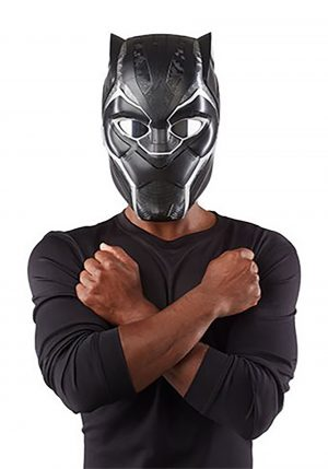 Capacete eletrônico pantera negra – Black Panther Electronic Helmet