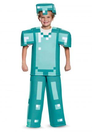 Fantasia Armadura Minecraft – Minecraft Kids Armor Costume
