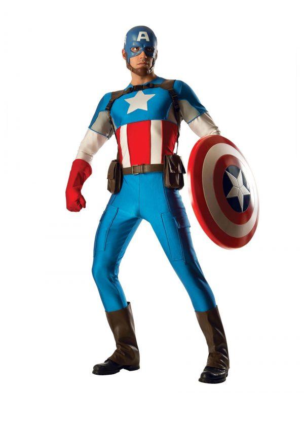 Fantasia Capitão América – Captain America Grand Heritage Men's