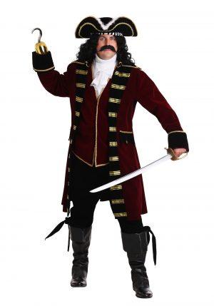Fantasia Capitão Gancho Plus Size – Plus Size Deluxe Captain Hook Costume