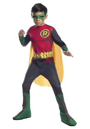Fantasia DC Comics ROBIN – DC Comics Child Robin Costume