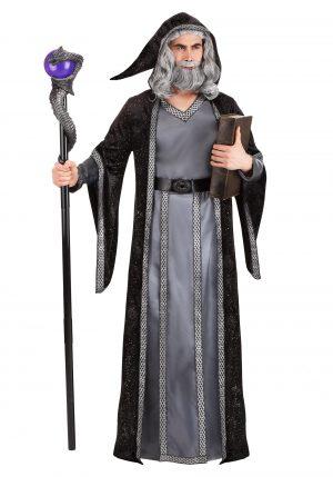 Fantasia Deluxe Mago Negro – Deluxe Dark Wizard Costume