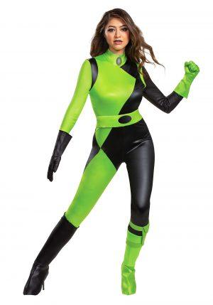 Fantasia Feminina de Kim Possible – Disney Kim Possible Animated Series Women's Shego Costume