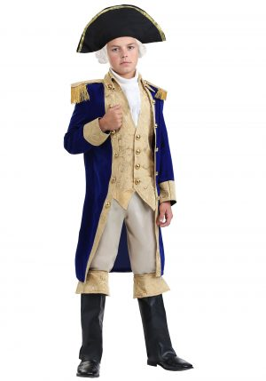 Fantasia George Washington – George Washington Costume for Boys