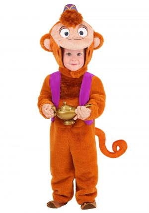 Fantasia Infantil ABU Aladdin – Disney Aladdin Toddler Abu Deluxe Costume