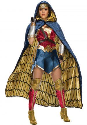 Fantasia Mulher Maravilha com Capa – Women's Grand Heritage Wonder Woman Costume