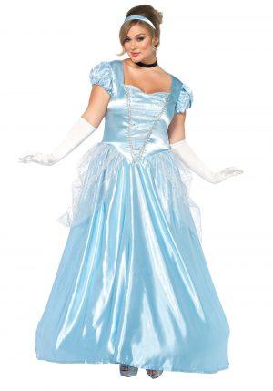 Fantasia  Plus Size Cinderela – Plus Size Cinderella Classic Costume