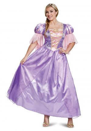 Fantasia Rapunzel Deluxe adulto – Tangled Adult Deluxe Rapunzel Costume