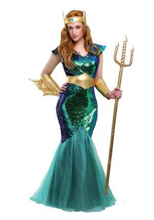 Fantasia  Sereia do mar Plus Size – Women's Sea Siren Plus Size Costume