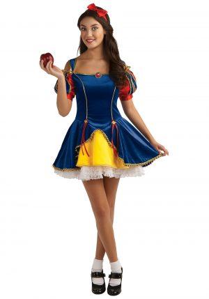 Fantasia adolescente de branca de neve – Teen Snow White Costume