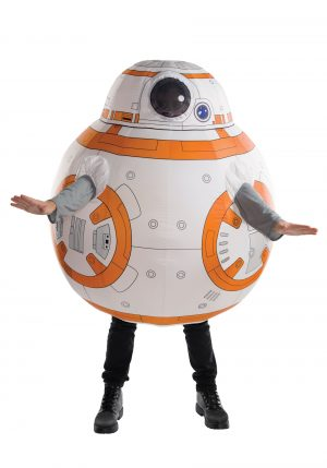 Fantasia adulto inflável Star Wars BB8 – Star Wars BB8 Inflatable Adult Costume