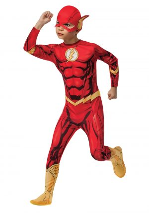 Fantasia clássico do Flash – Classic The Flash Costume