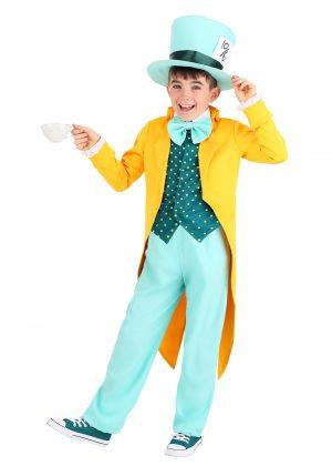 Fantasia de Chapeleiro Louco – Bright Mad Hatter Costume for Children