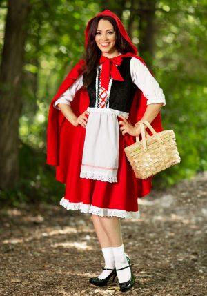 Fantasia de Chapeuzinho Vermelho Plus Size – Plus Size Little Red Riding Hood Costume
