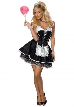 Fantasia de Empregada Sexy – Womens Naughty Maid Costume