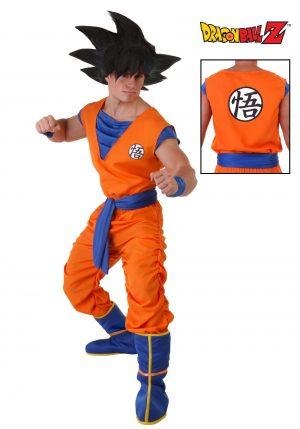 Fantasia de Goku Dragon Ball Z Plus Size – Dragon Ball Z Plus Size Goku Costume