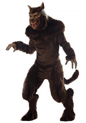 Fantasia de Lobisomem Adulto Deluxe – Deluxe Adult Werewolf Costume