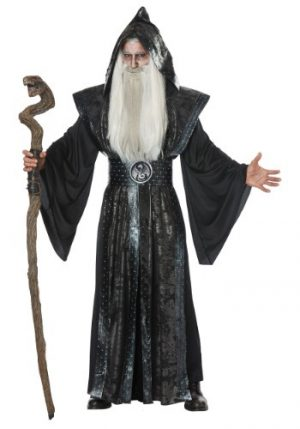 Fantasia de Mago Negro – Dark Wizard Mens Costume