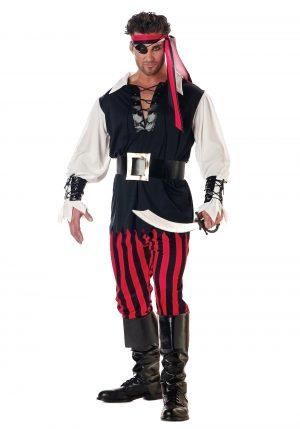 Fantasia de Pirata para Adultos – Adult Cutthroat Pirate Costume