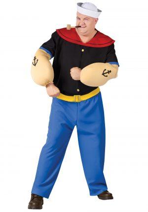Fantasia de Popeye Plus Size – Plus Size Popeye Costume