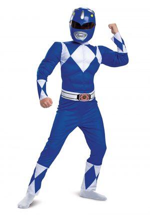 Fantasia de Power Rangers Azul – Power Rangers Boys Blue Ranger Costume