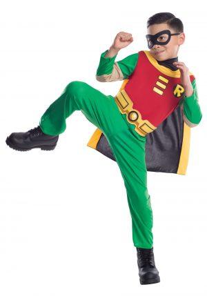 Fantasia de Robin para meninos – Teen Titans Boys Robin Costume