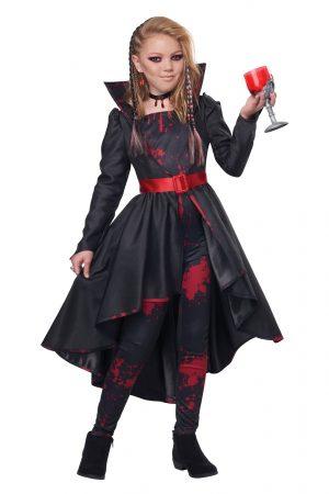 Fantasia de Vampira Infantil – Girl's Bad Blood Costume