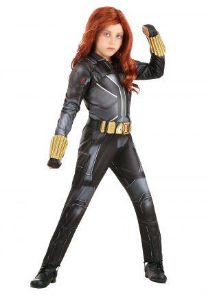 Fantasia de Viúva Negra Deluxe para Crianças – Black Widow Deluxe Costume for Kids