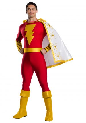 Fantasia de adulto Shazam DC – DC Classic Adult Shazam Costume