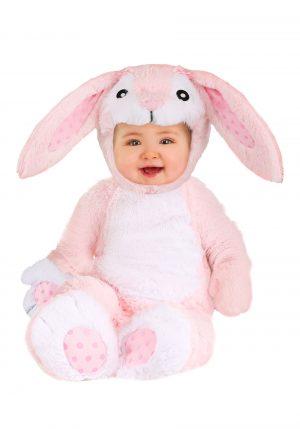 Fantasia de bebê coelhinho rosa – Fluffy Pink Bunny Baby Costume