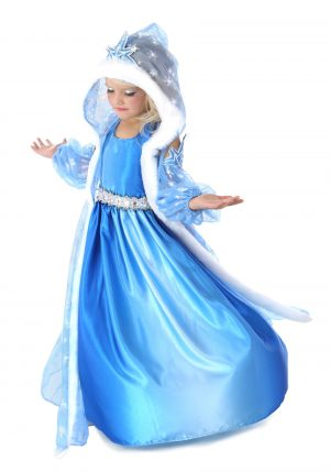 Fantasia de criança  a princesa de inverno – Child Icelyn the Winter Princess Costume