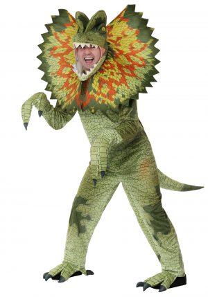 Fantasia de dilofossauro para adultos – Dilophosaurus Adult Costume