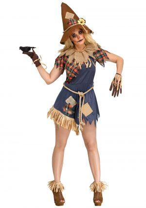 Fantasia de espantalho feminina – Women's Scary Scarecrow Costume